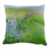 Evans Lichfield Cornflowers  Cushion (22940)