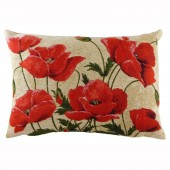 Evans Lichfield Poppies Cushion (22953)