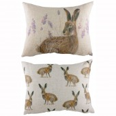 Standing Hare Cushion (22955)