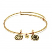 Life Collection Lucky Ganesh Gold Plated Bracelet (23000)