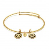 Life Collection Believe Gold Plated Bracelet (23004)