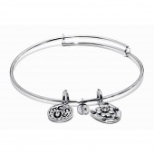 Life Collection Hope Rhodium Plated Bracelet (23007)