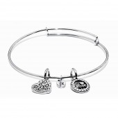 Life Collection Joy Rhodium Plated Bracelet (23013)