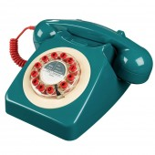 Wild and Wolf 746 Classic Phone - Petrol Blue (23177)