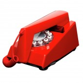Trim Phone - Phone Box Red (23181)