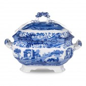 Blue Italian Soup Tureen (23214)
