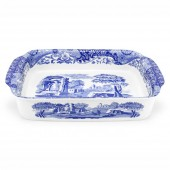Blue Italian Rectangular Dish (23223)