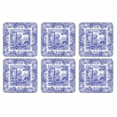 Blue Italian Coasters Set of 6 (23231)