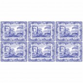 Blue Italian Placemats- Set of 6 (23233)