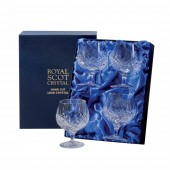 London Box of 4 Brandy Glasses (23352)
