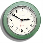 Newgate Clocks Cookhouse Metal Green Wall Clock (23391)