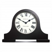 Newgate Clocks Wooden Case Black Mantel Clock (23394)