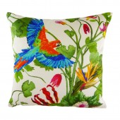 Evans Lichfield Tropical Parrot Cushion (23414)