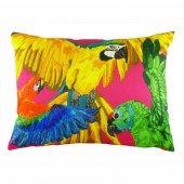 Evans Lichfield Tropical Parrots Cushion (23416)