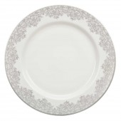 Monsoon by Denby Filigree Silver Dinner Plate (23531)