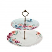 Monsoon by Denby Kyoto 2 Tier Cake Stand (23578)