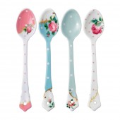 Royal Albert Ceramic Spoons- Set of 4 (23584)