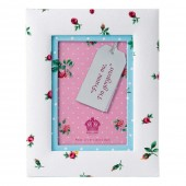 Royal Albert Rose Buds Fabric Photo Frame (23586)