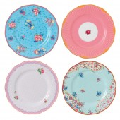 Candy Collection Plates - Set of 4 (23614)