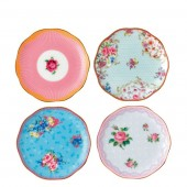 Candy Collection Mini Plates - Set of 4 (23615)