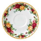 Old Country Roses Tea Cup Saucer (23643)