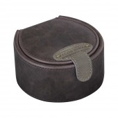 Jacob Jones Cufflink Box Brown & Khaki (23682)