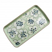 Heritage Orchard Accent Rectangular Plate (23702)