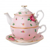 New Country Roses Pink Vintage Tea For One (23722)