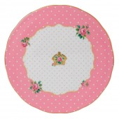 Cheeky Pink Cake Plate (23738)
