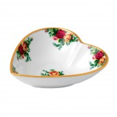 Old Country Roses Heart Shaped Tray (23769)