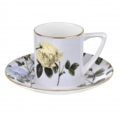 Ted Baker Rosie Lee Espresso Cup & Saucer - Lilac (23819)