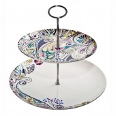 Monsoon by Denby Cosmic 2 Tier Cake Stand (23841)