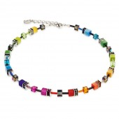 Coeur de Lion Multicoloured Rainbow Necklace (23846)