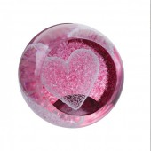 Special Moments Ruby Pink Heart Paperweight (23987)