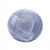 Caithness Glass Special Moments Silver Heart Paperweight (23988)