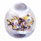 Caithness Glass Abstract Moonbloom Paperweight (24000)