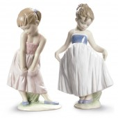 Lladro Sweet Shyness & Look At My Dress Special Offer (24101)