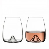 Elegance Stemless Wine Glasses - Set of 2 (24142)
