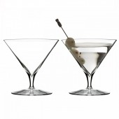 Elegance Martini Cocktail Glasses - Set of 2 (24146)