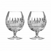 Lismore Diamond Brandy Glasses - Set of 2 (24196)