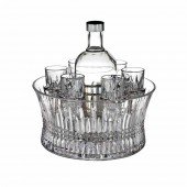 Lismore Diamond Vodka Set in Chill Bowl (24246)