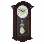 London Clock Company Traditional Pendulum Wall Clock - 49.5 cm (24279)