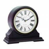 London Clock Company Round Top Mantel Clock - 28cm (24288)