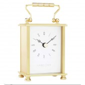 Solid Brass Carriage Clock- 13.5 cm (24298)