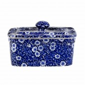 Blue Calico 400g Covered Butter Dish (24538)