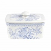 Blue Asiatic Pheasants 400g Covered Butter Dish (24685)