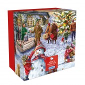 Gibsons Jigsaws A White Christmas Jigsaw Puzzle (25017)