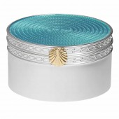 Vera Wang With Love Treasures Aquamarine Seashell Treasure Box (25113)