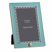 Vera Wang With Love Treasures Aquamarine Seashell Photoframe - 4 x 6 (25128)