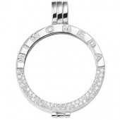 Mi Moneda Silver Interchangeable Pendant Large (25156)